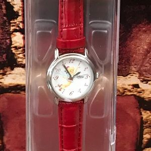NEW Timkerbell Santa 🎅 Hat Christmas watch red